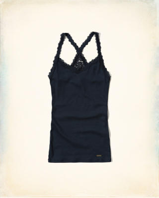 Must-Have Slim Lace Tank