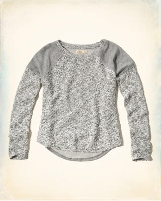 Mixed Crew Sweater