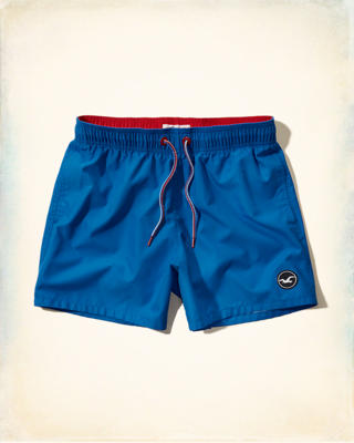 Contrast Guard Fit Swim Shorts