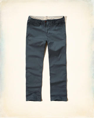 Hollister Boot Zipper Fly Chinos