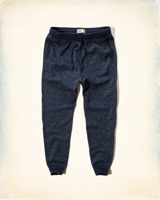 Hollister Contrast Fleece Jogger Pants