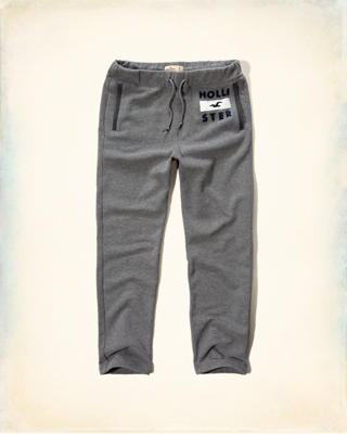 Hollister Logo Fleece Sweatpants