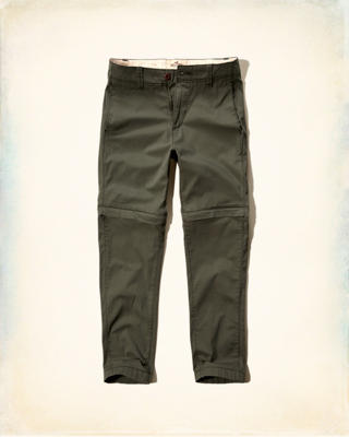 Convertible Twill Pants