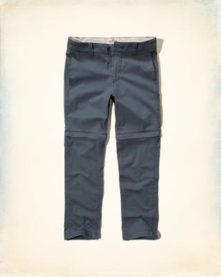 Hollister Zipaway Zipper Fly Pants
