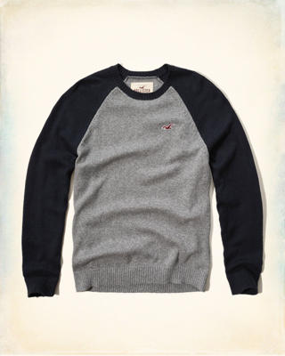 Colorblock Icon Sweater