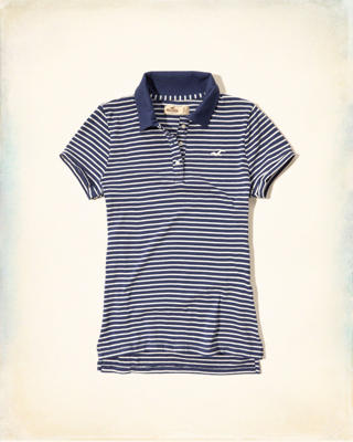 Iconic Stripe Polo