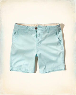 Hollister Prep Fit Twill Shorts
