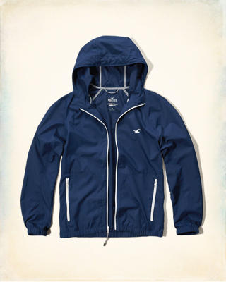 Hollister Lightweight Packable Windbreaker