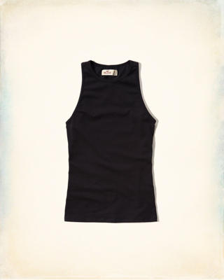 Slim Ribbed Tank