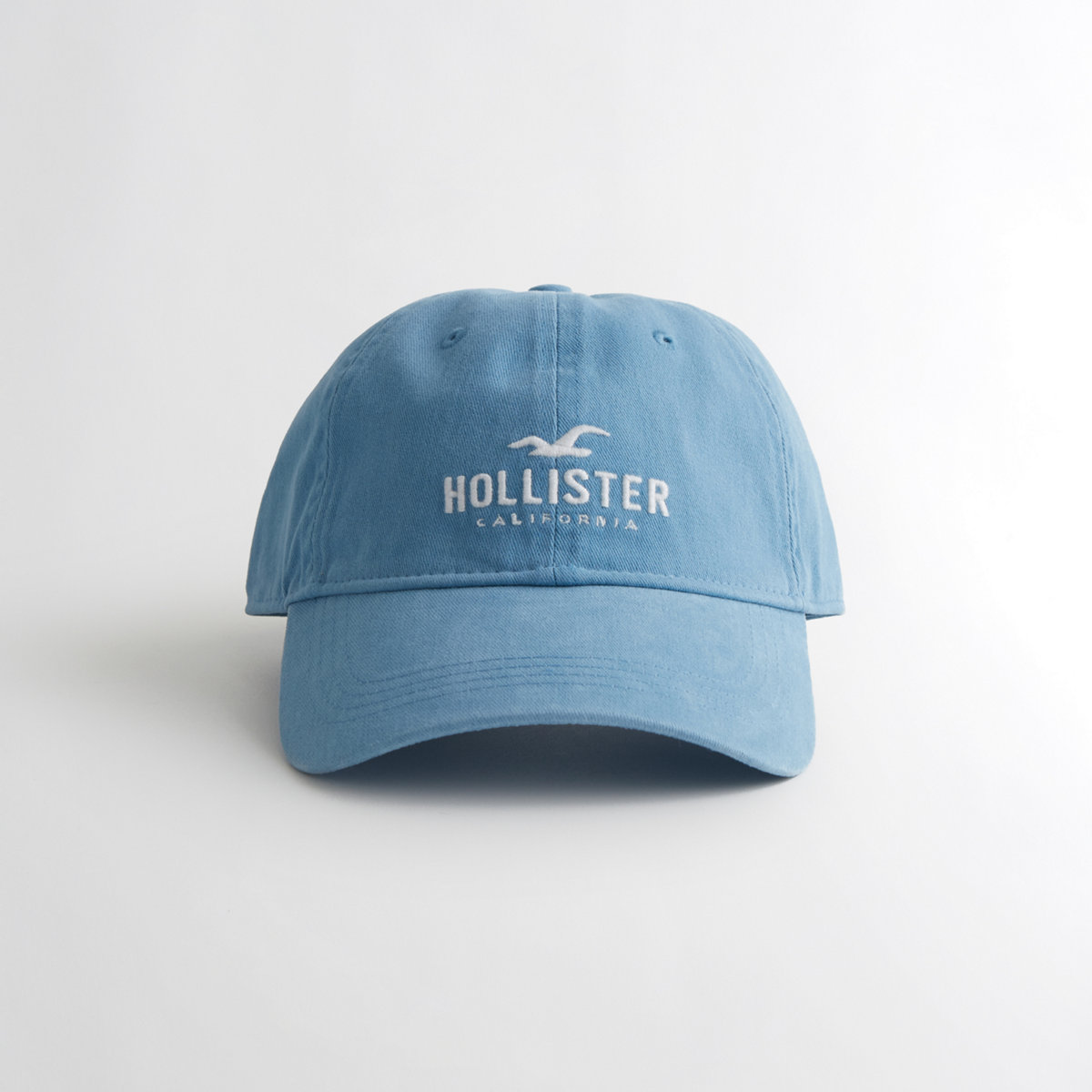 Guys Logo Twill Dad Hat from Hollister
