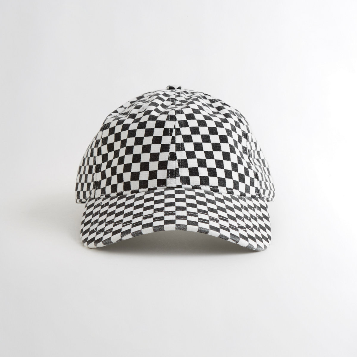 Guys Checkerboard Dad Hat from Hollister