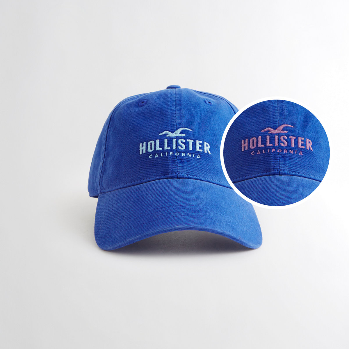 Guys Logo Dad Hat from Hollister