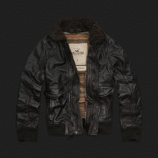 Boys Palm Canyon Leather Jacket