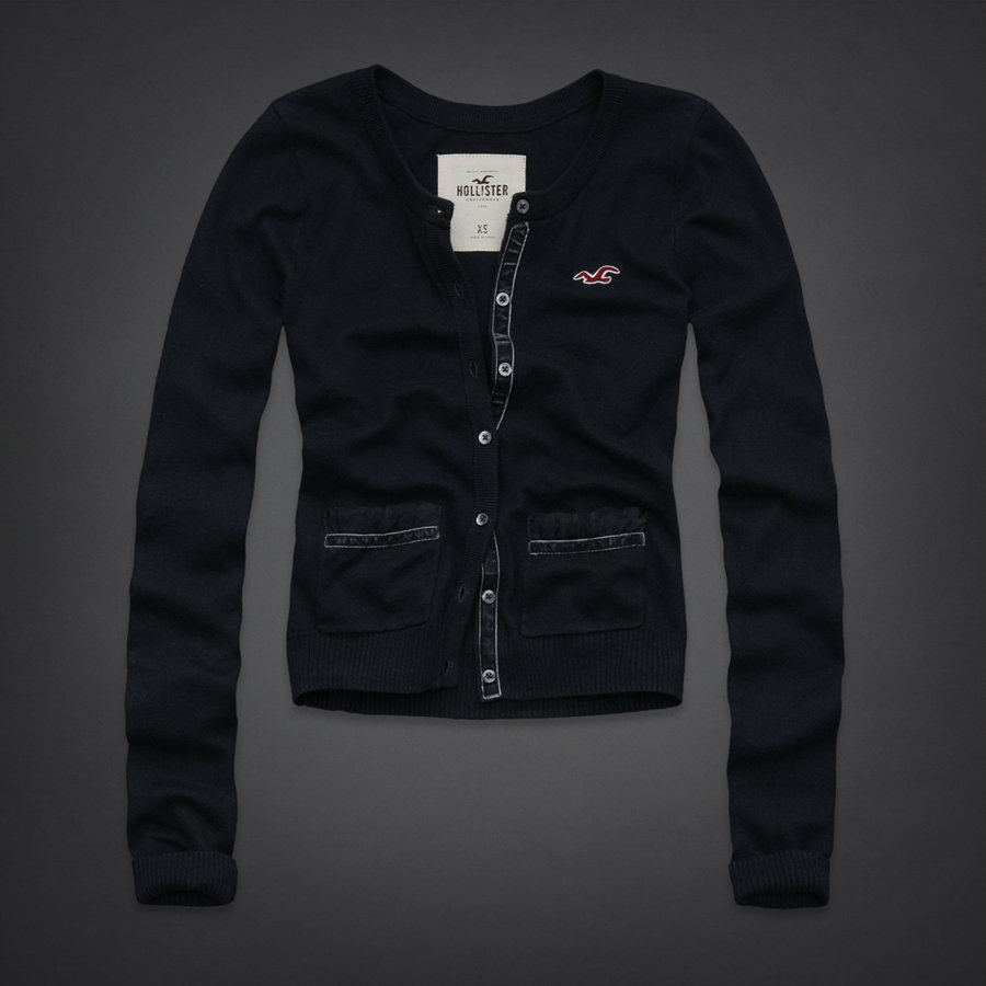 2011 NEW HOLLISTER by Abercrombie womens Classic Long Sleeve Sweater