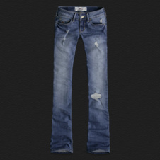 Girls Hollister Boot Jeans