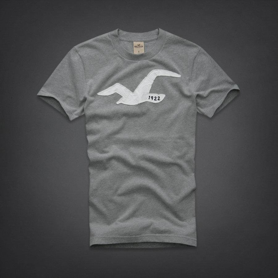 NWT HOLLISTER Abercrombie Mens Short Sleeve T Shirt Tee S, M, L, XL