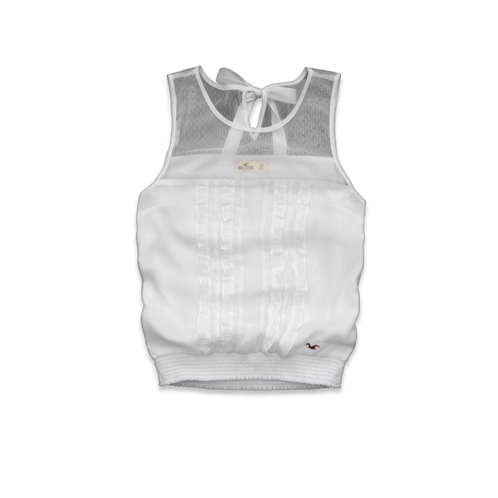 Girls Shell Beach Tank