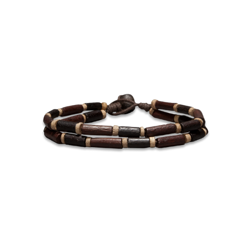 Guys Classic Beaded Bracelet