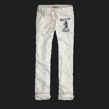 Boys Hollister Slim Straight Sweatpants