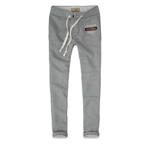 Guys Hollister Super Skinny Sweatpants