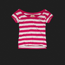 Girls Harbor Beach Tee