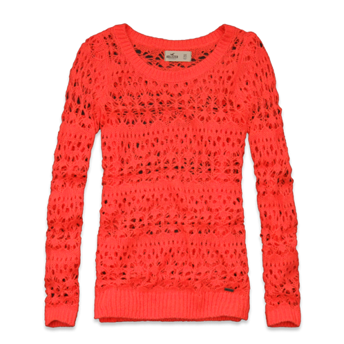 Girls Orange County Sweater