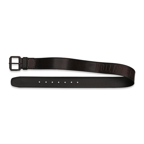 Guys SoCal Leather Belt