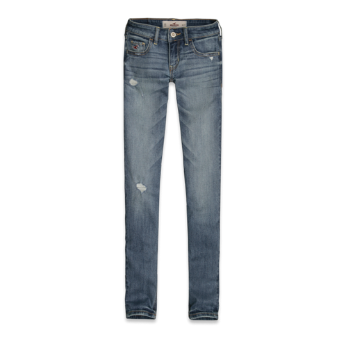 Girls Hollister Skinny Ankle Jeans