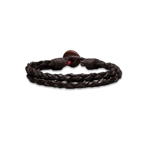 Girls Heritage Leather Bracelet
