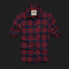Boys Hammerland Flannel Shirt