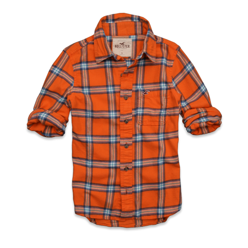 Girls Clobberstones Flannel Shirt