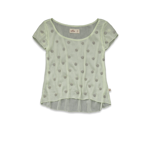 Girls Doheney Shine Top