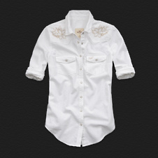 Girls Laguna Hills Denim Shirt