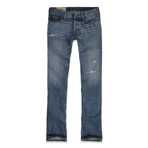 Guys Hollister Slim Boot Jeans
