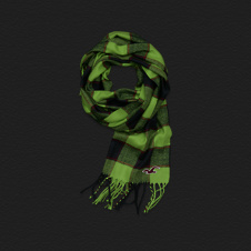 Girls Preppy Scarf