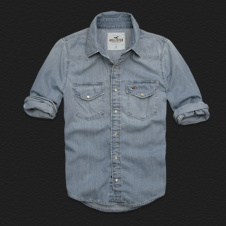 Boys La Jolla Denim Shirt