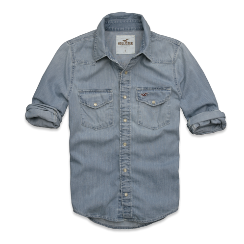Guys La Jolla Denim Shirt