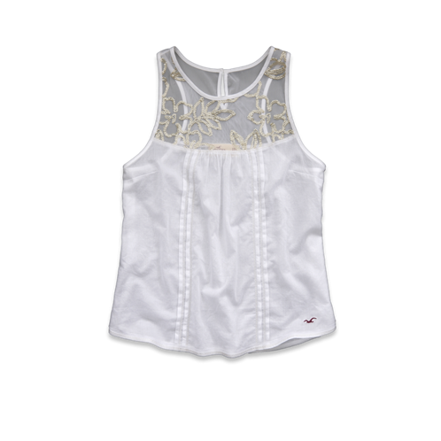 Girls Arrow Point Shine Tank