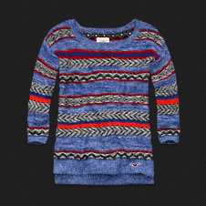Girls Trestles Beach Sweater