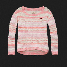 Girls Sunset Cliffs Sweater