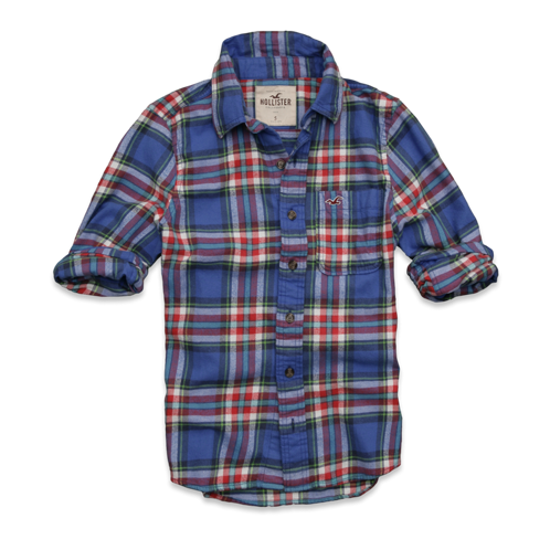 Guys Clobberstones Flannel Shirt