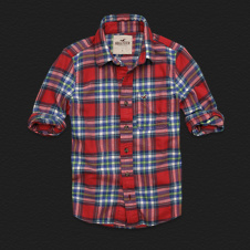 Boys Clobberstones Flannel Shirt