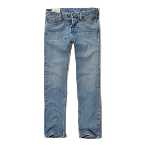 Guys Hollister Classic Straight Jeans