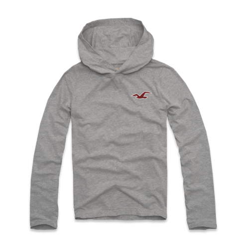 Guys Arrow Point Hoodie T-Shirt