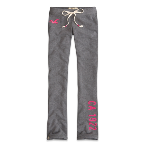 Girls Hollister Boot Sweatpants