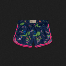 Girls Hollister Athletic Short-Shorts