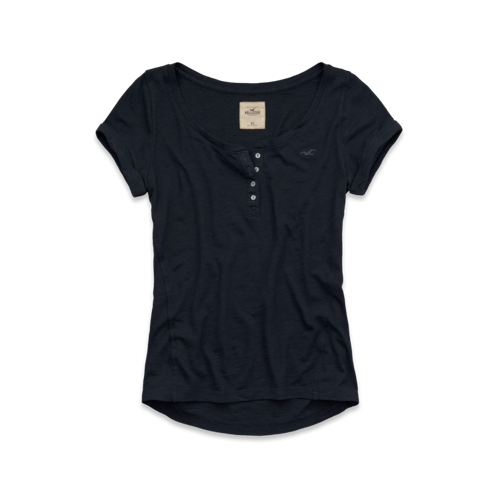Girls La Mesa Henley