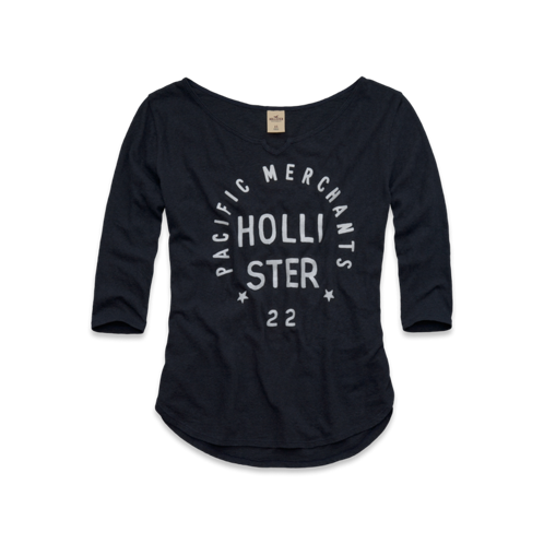 Girls Scripps Pier T-Shirt
