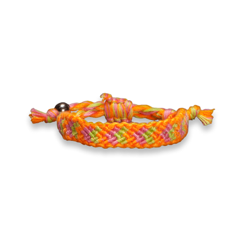 Girls Colorful Braided Bracelet
