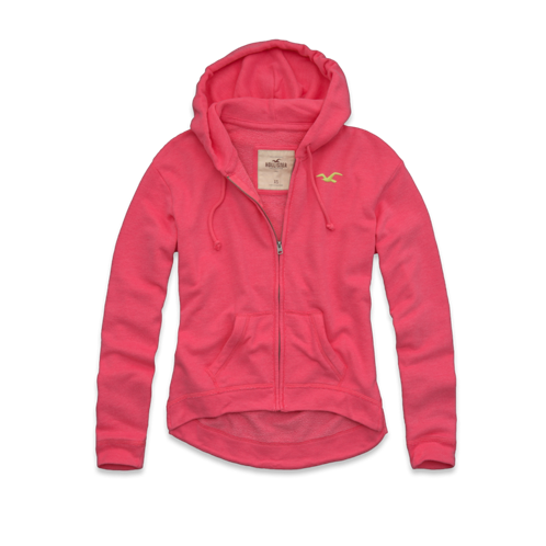 Girls Surfriders Beach Jersey Hoodie